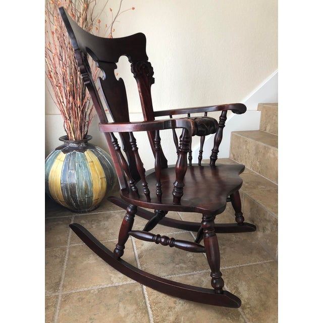 Excellent Pre-Owned Condition. As a woodworker, my husband has a fascination with antique/vintage wooden furniture. His...