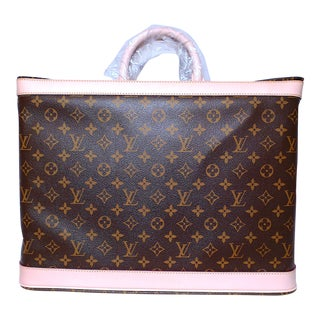 2000s Louis Vuitton Grimaud Travel Bag 45, Monogram Canvas For Sale