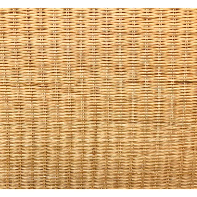 Bamboo/Rattan King Size Headboard For Sale In Miami - Image 6 of 8