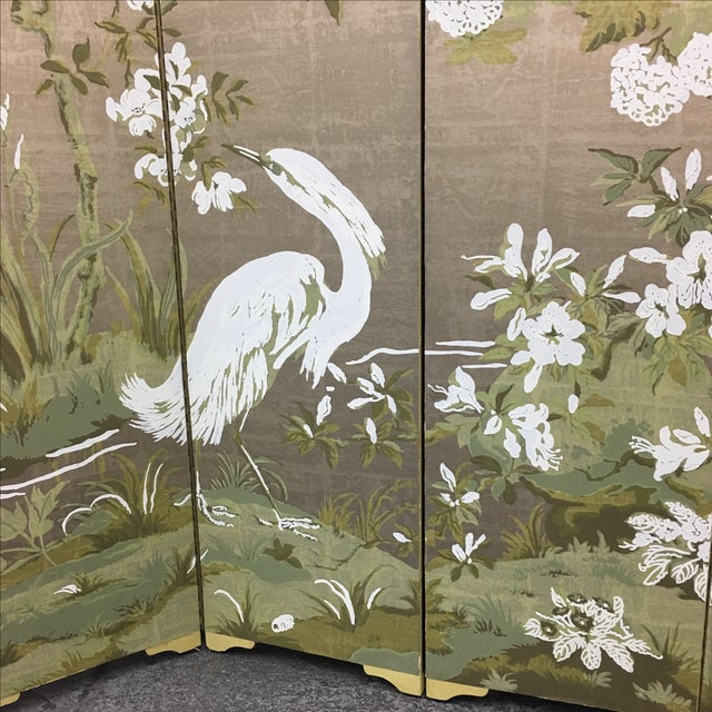 Chinoiserie Custom Designed Screen - Image 7 of 9