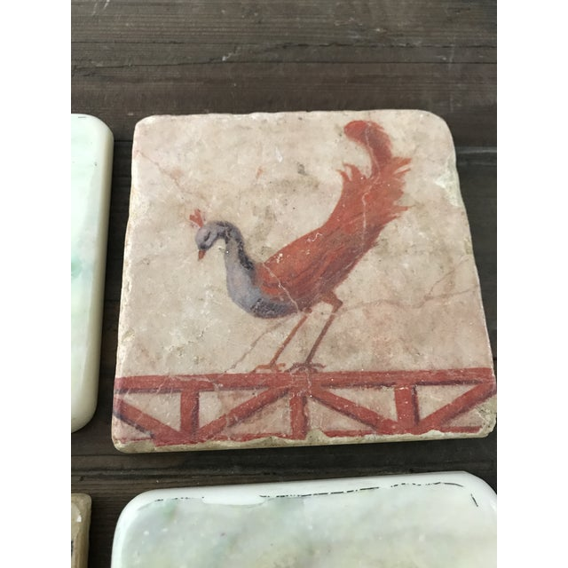 Pictorial Ceramic Coasters - Set of 4 - Image 5 of 6