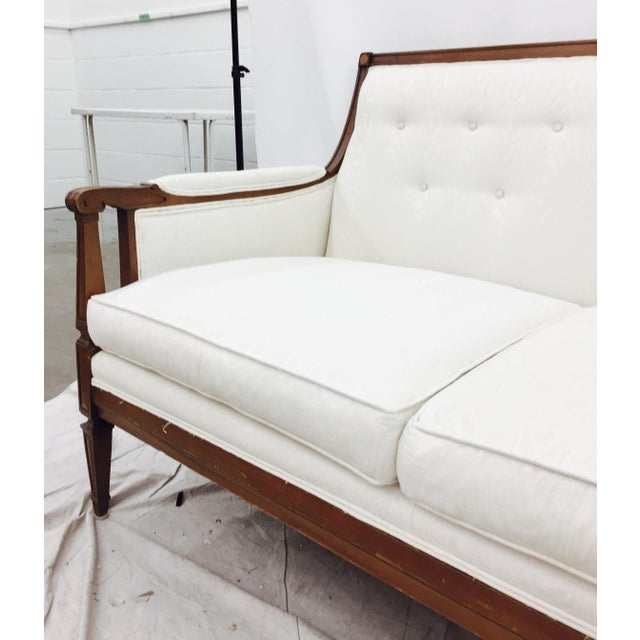 Vintage Mid-Century Tufted Button Back Sofa - Image 4 of 7