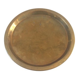 Vintage Brass Plate