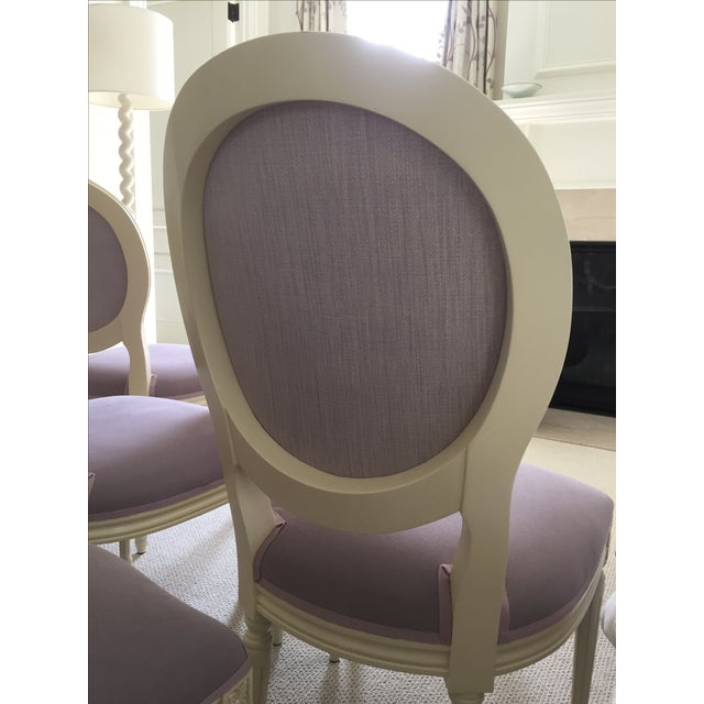 Set of Custom Dining Room Chairs - 10 - Image 6 of 8