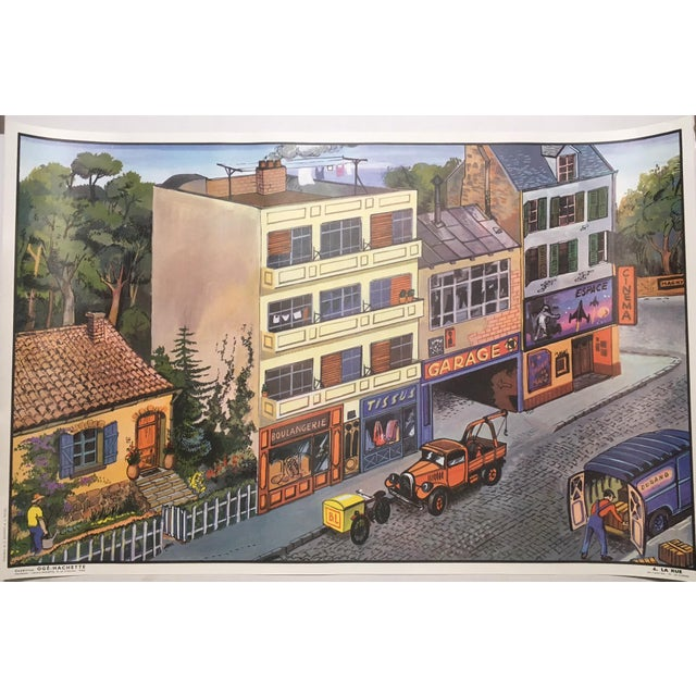 Childhood pleasures and childhood dreams, French style. New old stock from the 1960's, this one of a lot of posters which...