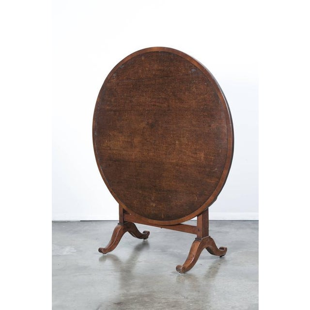 Antique French Wine Tasting Table For Sale - Image 4 of 10