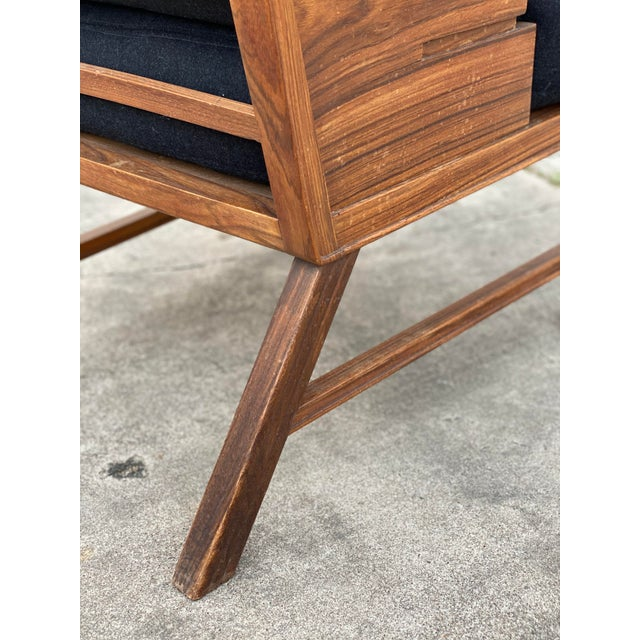 Danish Cabinetmaker Rosewood Armchair For Sale - Image 10 of 13