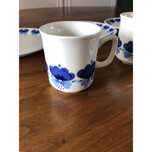 Stavangerflint by Rolf Froyland Cups, Saucers, and Small Plates - Set of 12 For Sale In Denver - Image 6 of 10