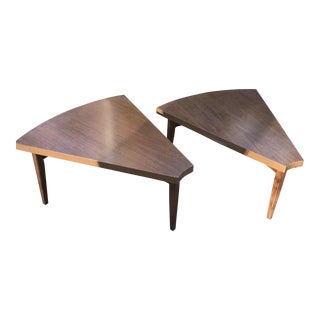 1960s Mid Century Modern Baumritter Side Tables - a Pair For Sale