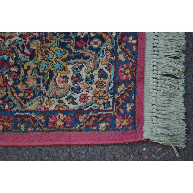 Karastan #717 Multi Panel Kirman Large Room Size Rug For Sale - Image 10 of 13
