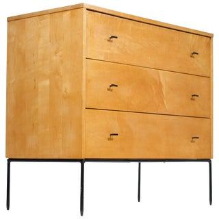Three-Drawer Dresser by Paul McCobb for Planner Group in Natural Maple For Sale