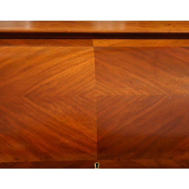 Rosewood 20th Century Danish Modern Rosewood Cylinder Desk For Sale - Image 7 of 13