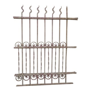 Antique Victorian Iron Gate # 302 For Sale