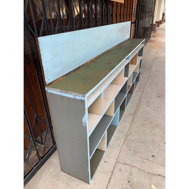1950's Industrial Style Custom Made Cabinet For Sale In Los Angeles - Image 6 of 9