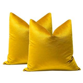 """22"""" Marrakesh Velvet Pillows - a Pair"""