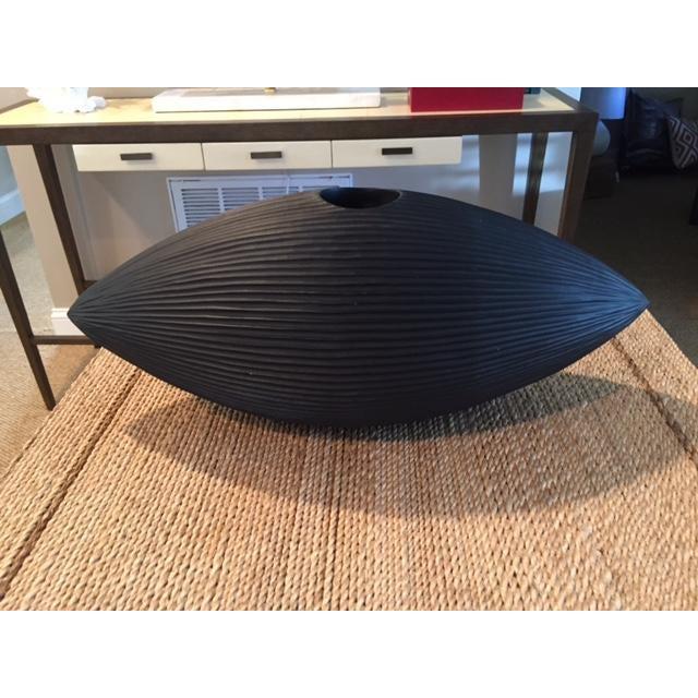 Eye Shaped Chisel Vase - Image 2 of 4