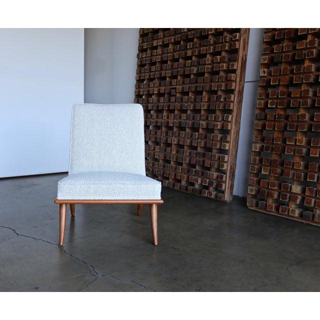 t.h. Robsjohn-Gibbings Slipper Chairs for Widdicomb Circa 1955 For Sale - Image 9 of 12