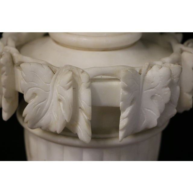Alabaster Table Lamps - A Pair - Image 6 of 10