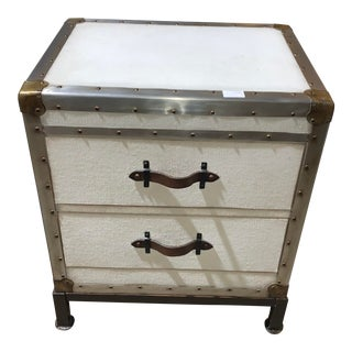 Pottery Barn Ludlow Trunk Nightstand For Sale
