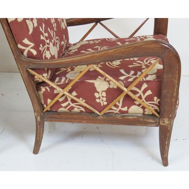Paolo Buffa Style Modern Lounge Chairs - Pair - Image 2 of 4