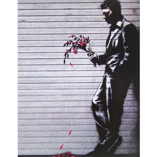 Wither, Offset Lithograph, BANKSY For Sale