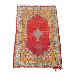 """Antique Turkish rug - 3'x4'9"""""""
