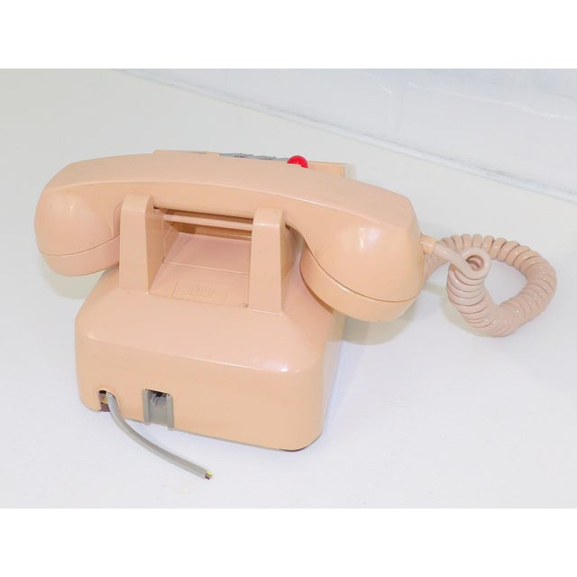 1980's Hotel Guest Touch Tone Telephone For Sale - Image 4 of 8