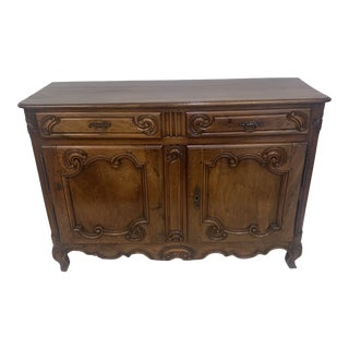 18th Century Antique Walnut Buffet For Sale