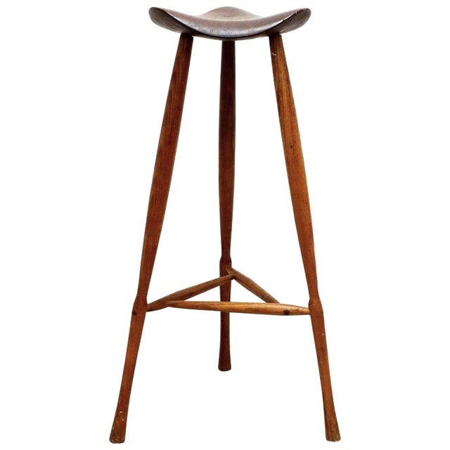 Fantastic Karl Seemuller Studio Craft Stool Usa 1973 Beatyapartments Chair Design Images Beatyapartmentscom