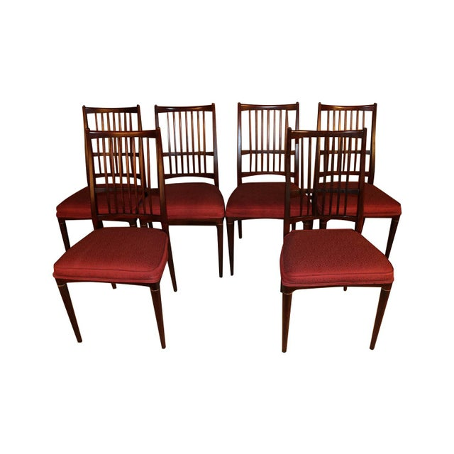 6 Svante Skogh Rosewood Cortina Dining Chairs For Sale - Image 13 of 13