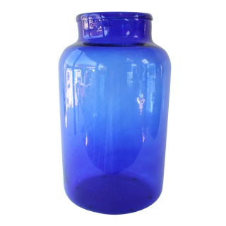 Vintage European Storage Jar For Sale