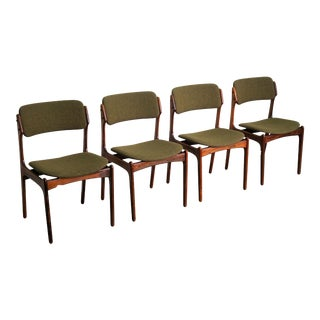Erik Buch Rosewood Od-49 - Set of 4 For Sale