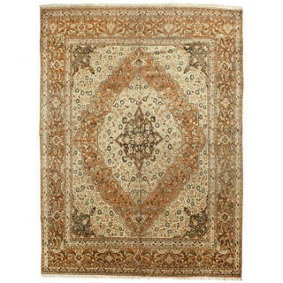 "Antique Tabriz Rug, 9'3"" x 12'7"" Preview"