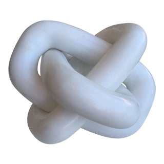 White Marble Chain Rings Decor Accessory For Sale