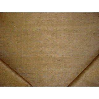 Scalamandre Flowdery Unito Bronze Brown Silk Upholstery Fabric - 5 Yards For Sale