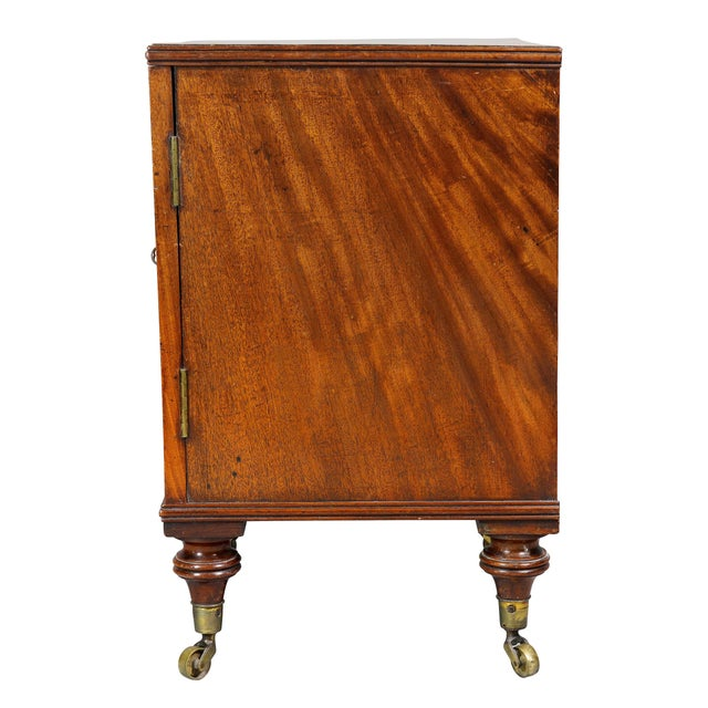 Brown George III Mahogany Collectors Cabinet For Sale - Image 8 of 10
