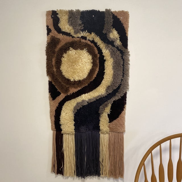 1960s Fiber Wall Art For Sale In New York - Image 6 of 6