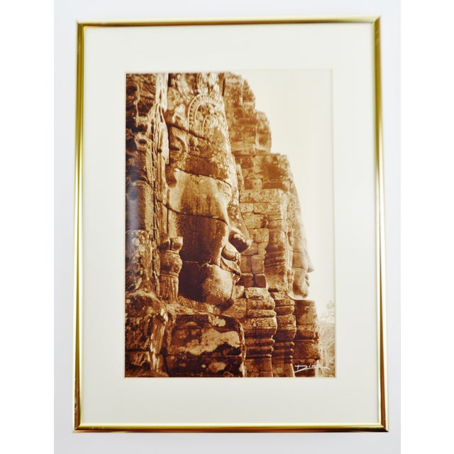 Late 20th Century Thierry Diwo Framed Cambodian Photography Art - Set of 4 For Sale - Image 5 of 13