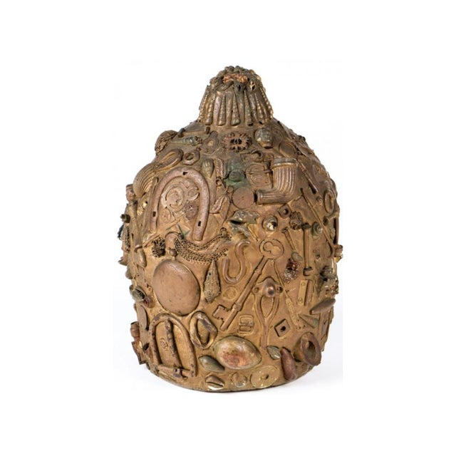 Antique Folk Art Memory Jug - Image 2 of 5