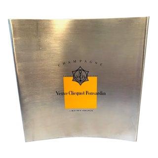 Vintage Veuve Clicquot Ponsardin Champagne Cooler/Ice Bucket For Sale