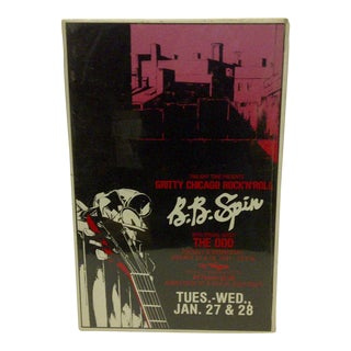 1981 B.B. Spin Gritty Chicago Rock-N-Roll For Sale