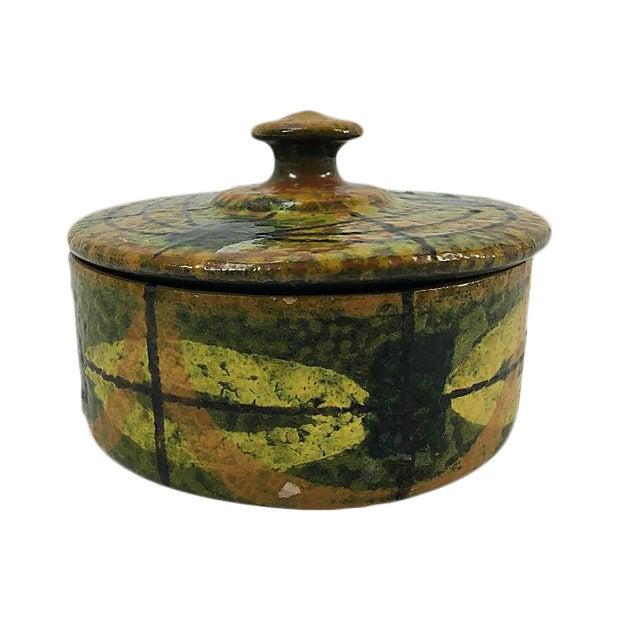 Mid-Century Italian Ceramic Lidded Box - Image 1 of 5