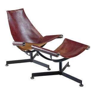 Max Gottschalk Lounge Chair with Ottoman, USA, 1960s