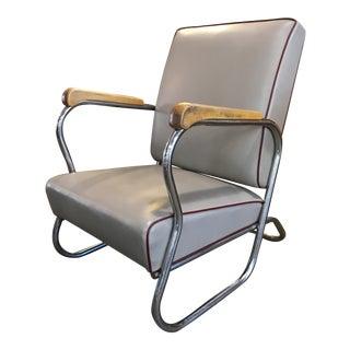 Kem Weber Style Art Deco Lounge Chair