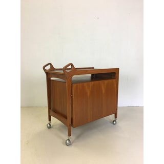 Teak Rolling Bar Cart by Dyrlund Preview