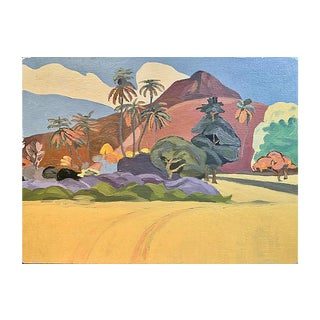 Tahitian Landscape, 1976 For Sale