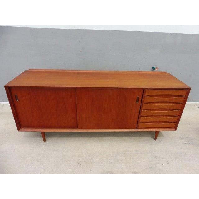 quality design afe82 4d509 1960's Danish Modern Arne Vodder Teak Sideboard for Sibast Furniture