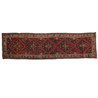 1920s Vintage Leon Banilivi Karabagh Runner - 3′6″ × 12′10″ For Sale