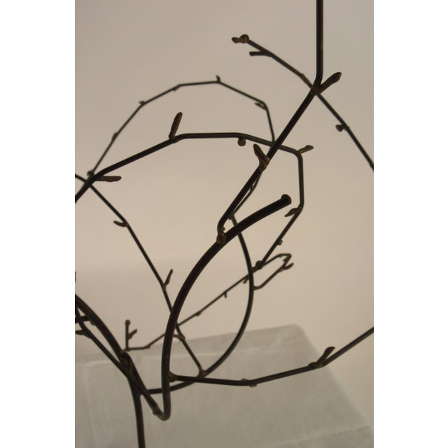 1970s Free-Form Abstract Sculpture on Lucite Base For Sale In New York - Image 6 of 10
