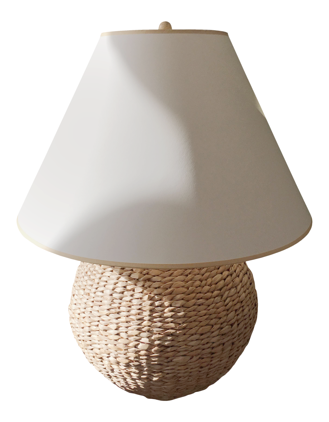 Ethan Allen Seagrass Table Lamp   Image 2 Of 6